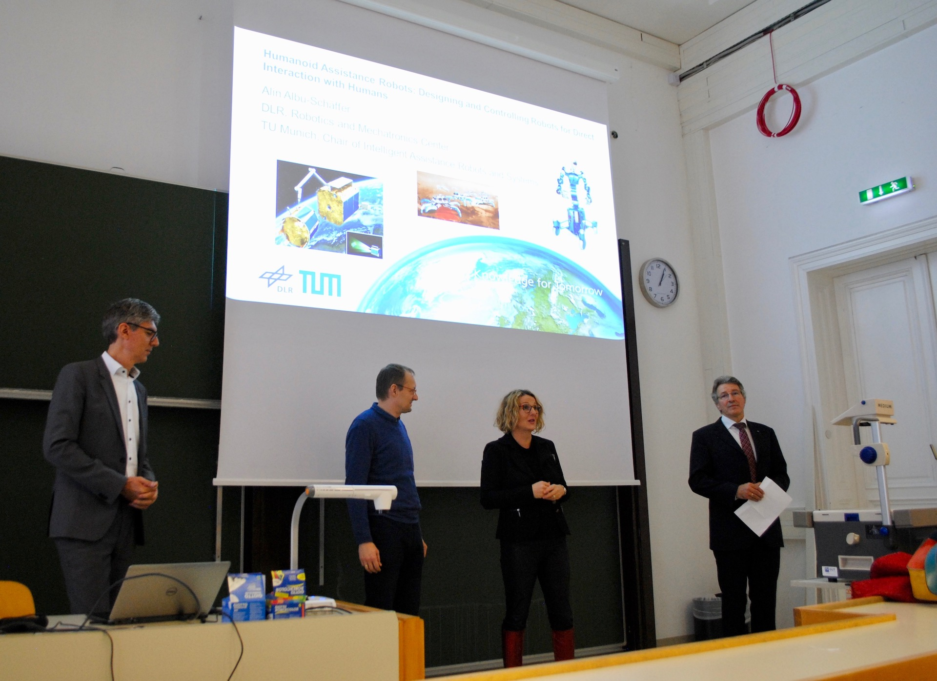 Opening of the Doctoral College and seminar talk by Prof. Alin Albu-Schäffer