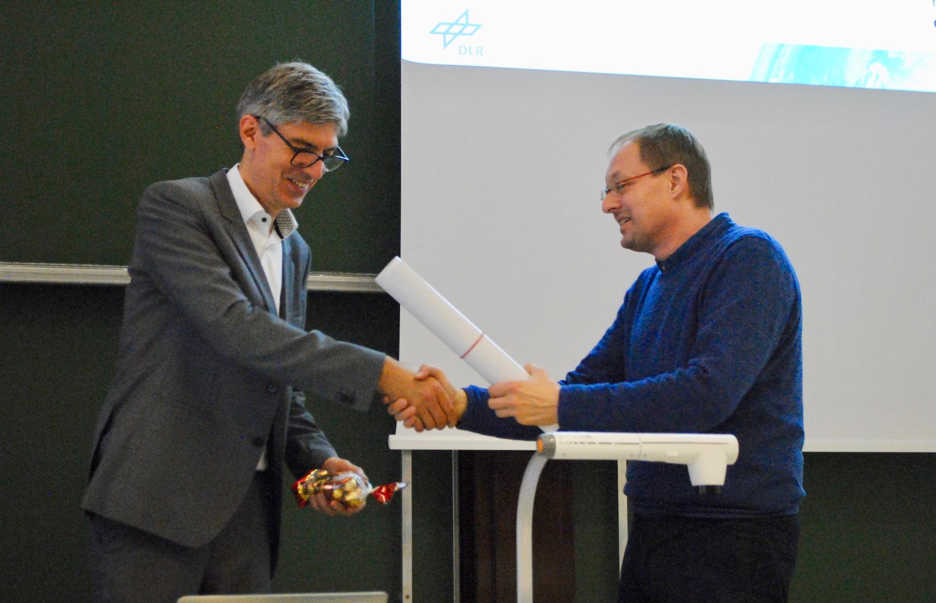 Professor Albu-Schäffer is thanked